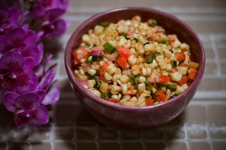 Sweet Corn Salsa, Screaming Goat Taqueria, Sarasota, Florida