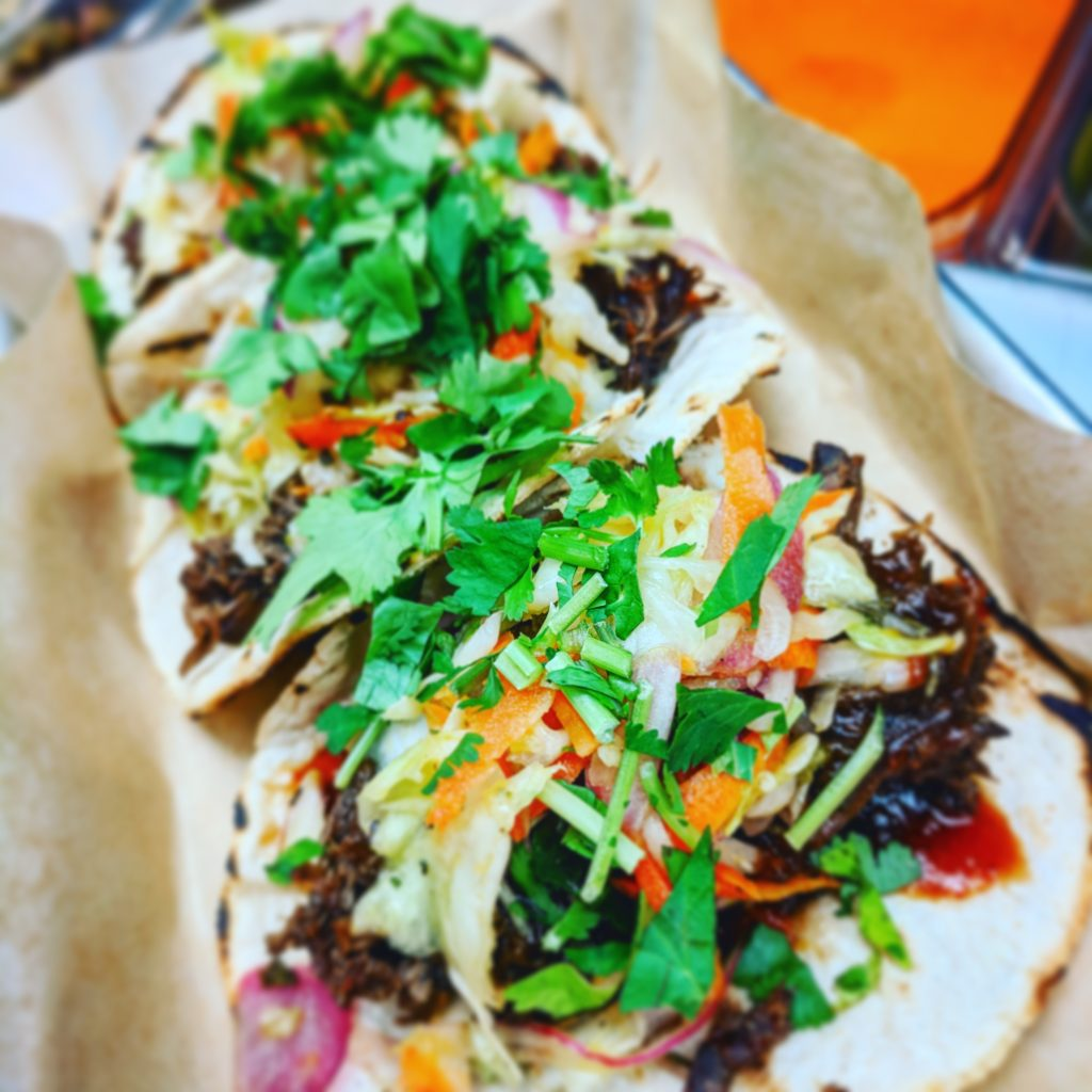 Korean Short Rib Tacos, Screaming Goat Taqueria, Sarasota, Florida, Gulf Gate, Chef Malin Parker